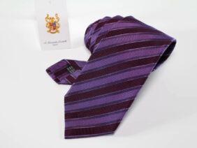 cravatta in seta 100% tre pieghe