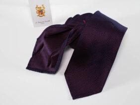 cravatta in seta 100% sfoderata