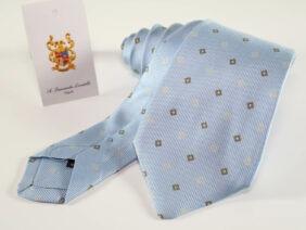 cravatta in seta100%