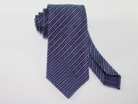 Cravatta sfoderata blu