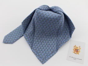 cravatta sette pieghe in seta