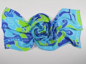 Silk scarf Alba di Procida by Antoh