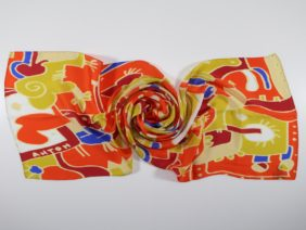 Silk scarf Aurora di Procida by Antoh
