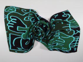 Silk scarf Campi Flegrei by Antoh