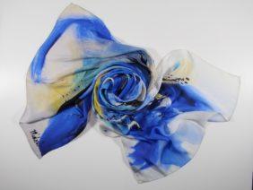 Silk Stole Kirameki by Midori Mccabe