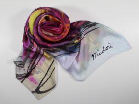 Foulard Contained - Whirlwind by Midori Mccabe