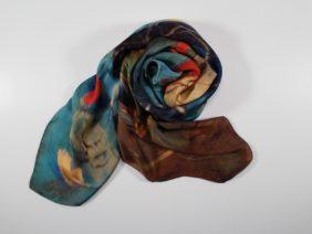Silk scarf Prophet by Antoh