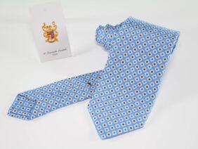 cravatta di seta tre pieghe