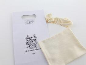 Pochette da taschino in seta